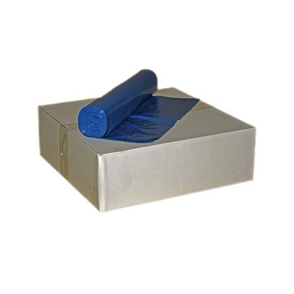 Müllsäcke 120 Liter blau LDPE Typ 60 35µ 10 Rollen a 25 Stück