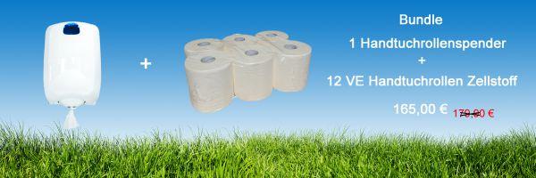 Bundle Handtuchrollen HT006-Z + Handtuchrollenspender-Innenabrollung IN-R01/WS