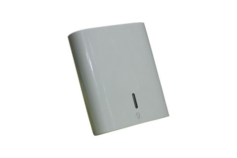Werra Papernet Falthandtuchspender Kunststoff weiß für ZZ-Falz/V-Falz/C-Falz