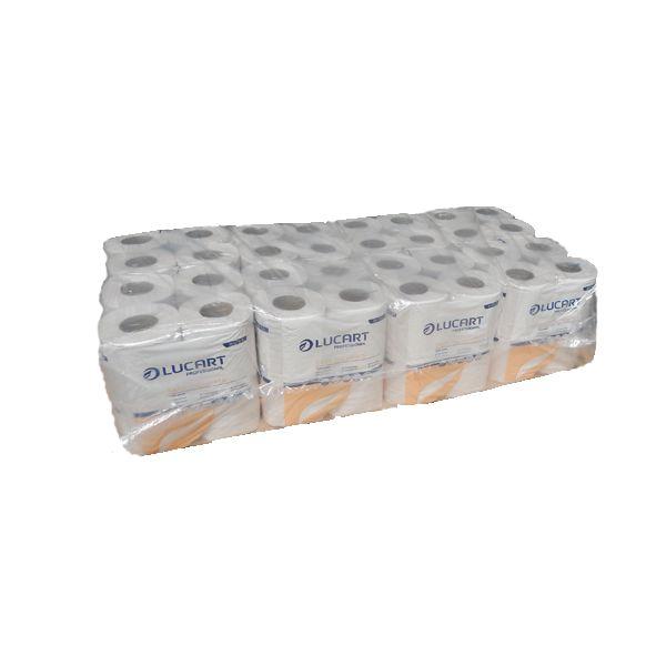 Toilettenpapier 2-lagig weiß RC-Tissue 64 Rollen pro VE