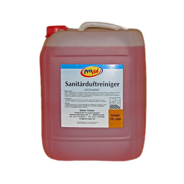 Sanitärduftreiniger 10 Liter Kanister
