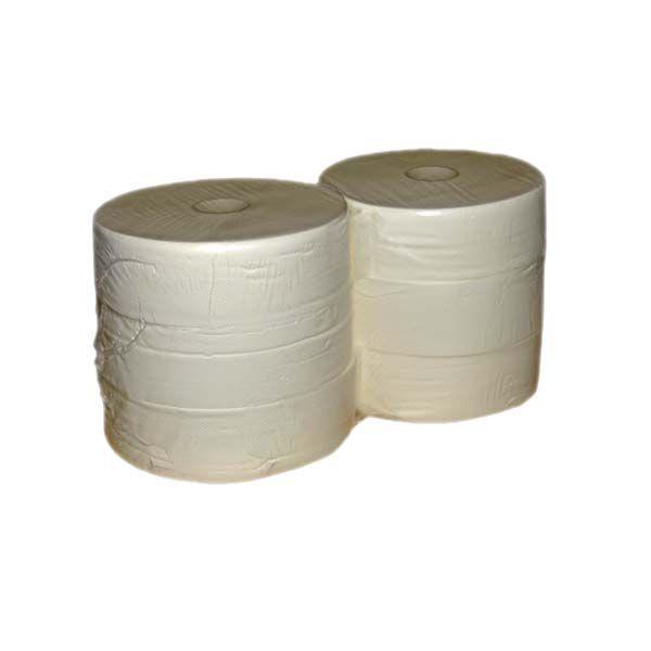 Jumborollen Toilettenpapier 2-lagig hochweiß Ø 26cm
