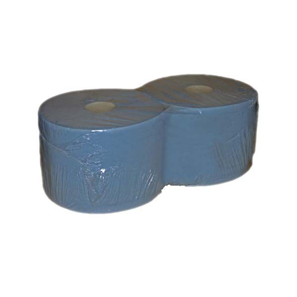 Putzrollen 2-lagig blau 22,5cm x 36cm 1000 Blatt