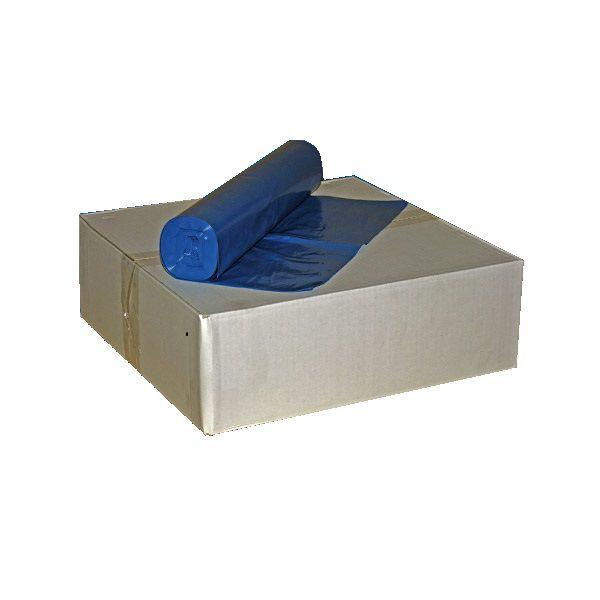 Müllsäcke 120 Liter blau Typ 100 64µ Karton mit 150 Stück