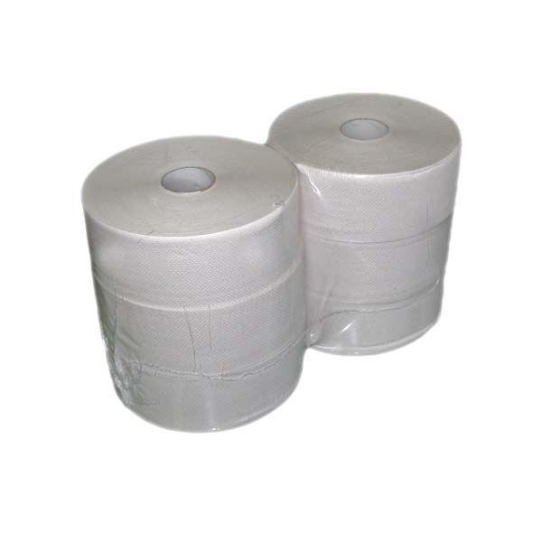 Jumborollen Toilettenpapier 2-lagig weiß Ø 25cm
