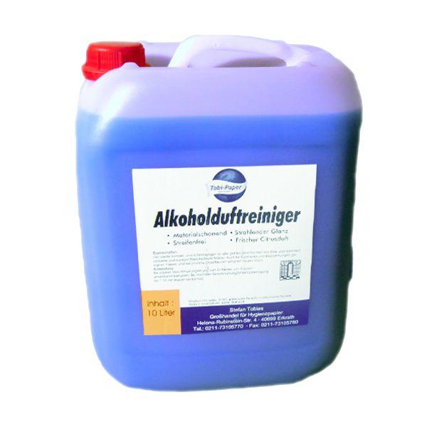 Alkoholduftreiniger 10 Liter Kanister