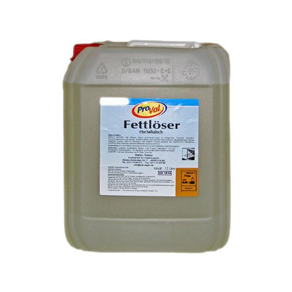 Fettlöser hochalkalisch 10 Liter Kanister