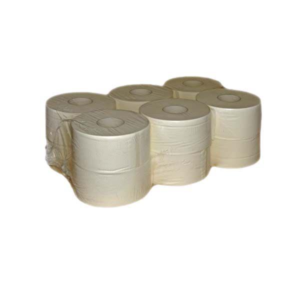 Jumborollen Toilettenpapier 2-lagig hochweiß Ø 18cm