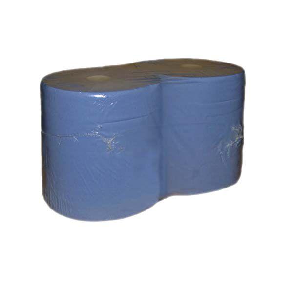 Putzrollen 2-lagig blau 36cm x 36cm 1000 Blatt pro Rolle