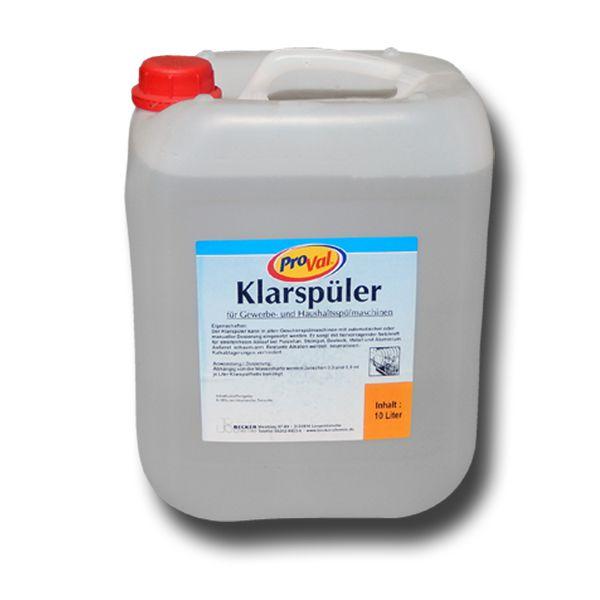 Klarspüler 10 Liter Kanister