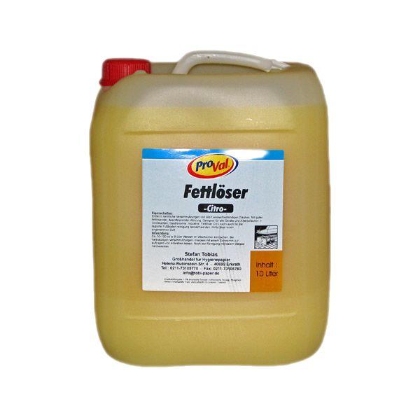 Fettlöser Citro 10 Liter Kanister